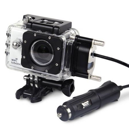 SJCAM SJCAM™ SJ5000 motorlader met waterdichte behuizing (voor SJ5000 WiFi en SJ5000+)
