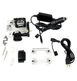 SJCAM SJCAM™ SJ4000 motorlader met waterdichte behuizing (voor SJ4000 en SJ4000+)