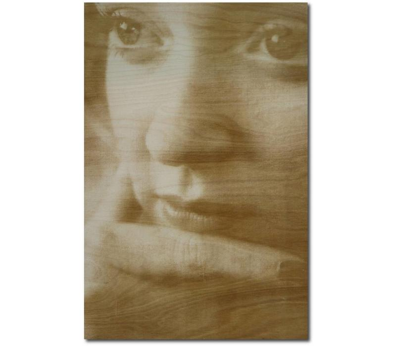 PHOTO ON WOOD PORTRAIT