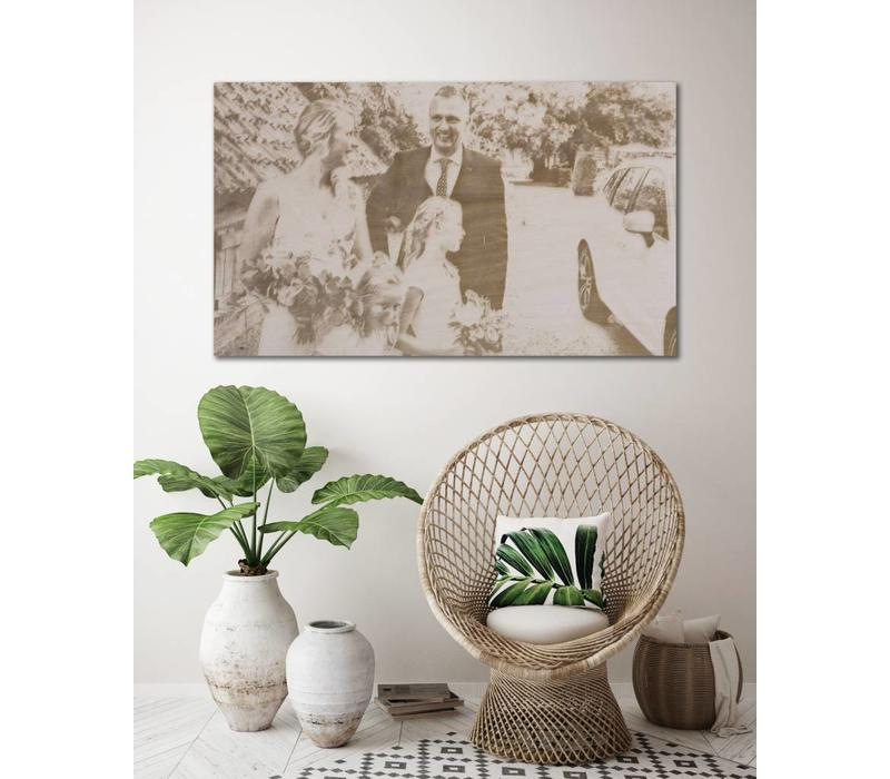 PHOTO ON WOOD LANDSCAPE