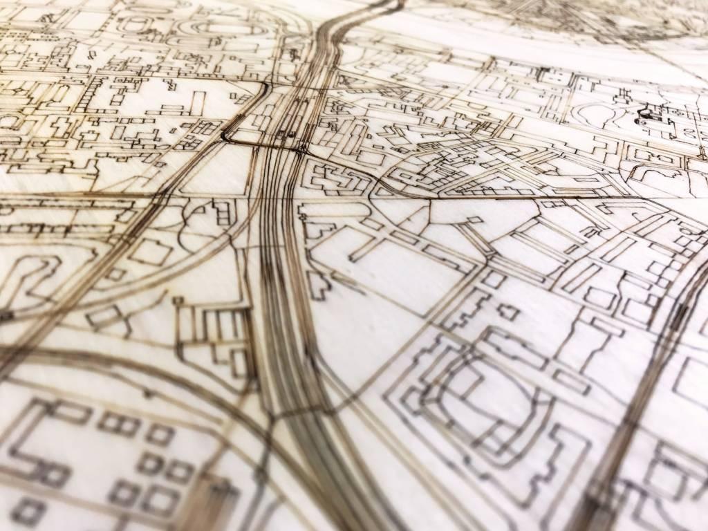 Citymap Dresden   houten wanddecoratie-4