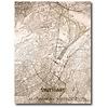 Citymap Stuttgart | houten wanddecoratie