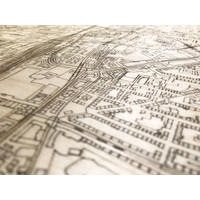 WOODEN WALL DECORATION DORTMUND CITYMAP