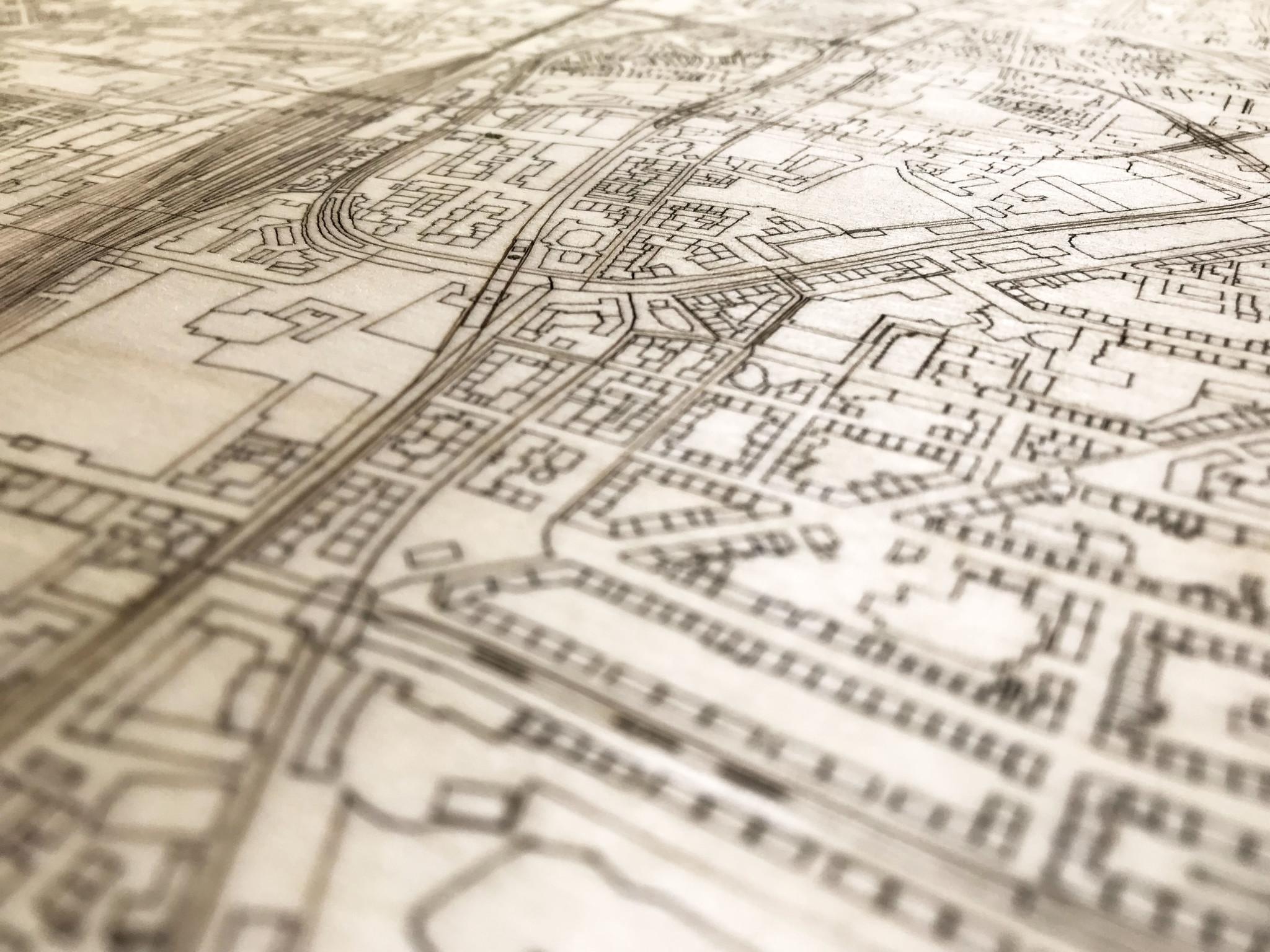 WOODEN WALL DECORATION DORTMUND CITYMAP-4