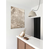 WOODEN WALL DECORATION Breda CITYMAP
