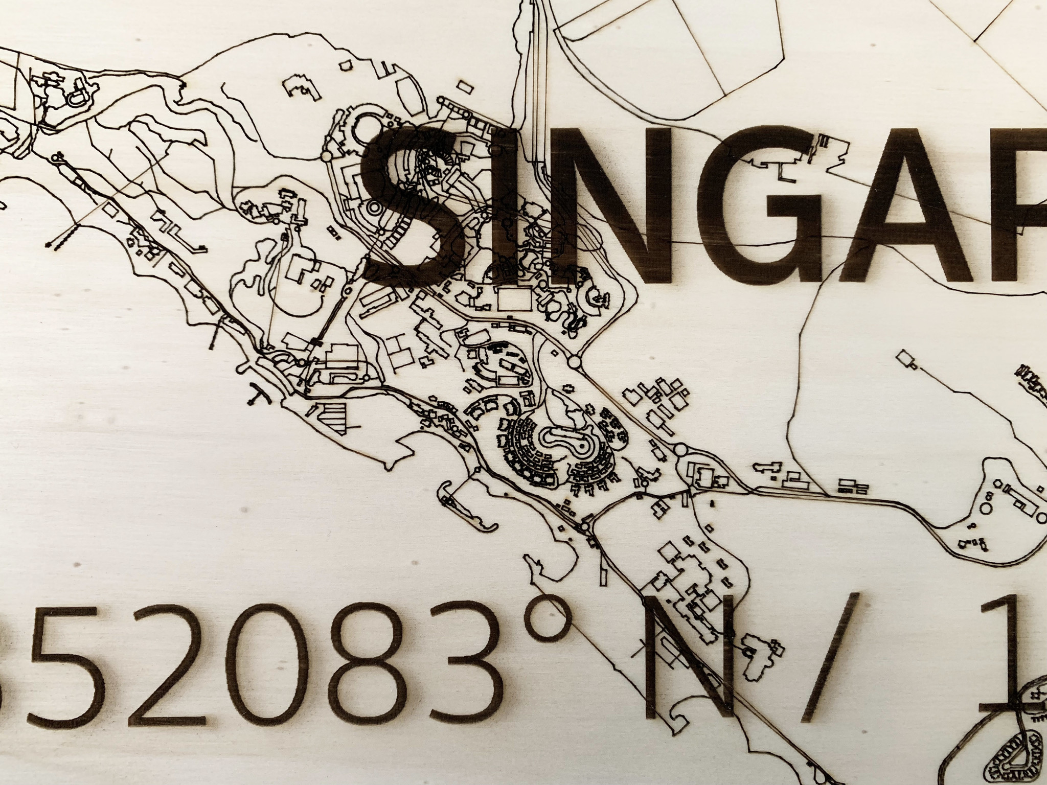 WOODEN WALL DECORATION SINGAPORE CITYMAP-4