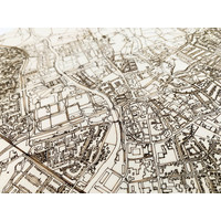 Stadtplan Doetinchem | Wanddekoration Holz