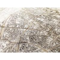 Stadtkarte Köln | Wanddekoration Holz