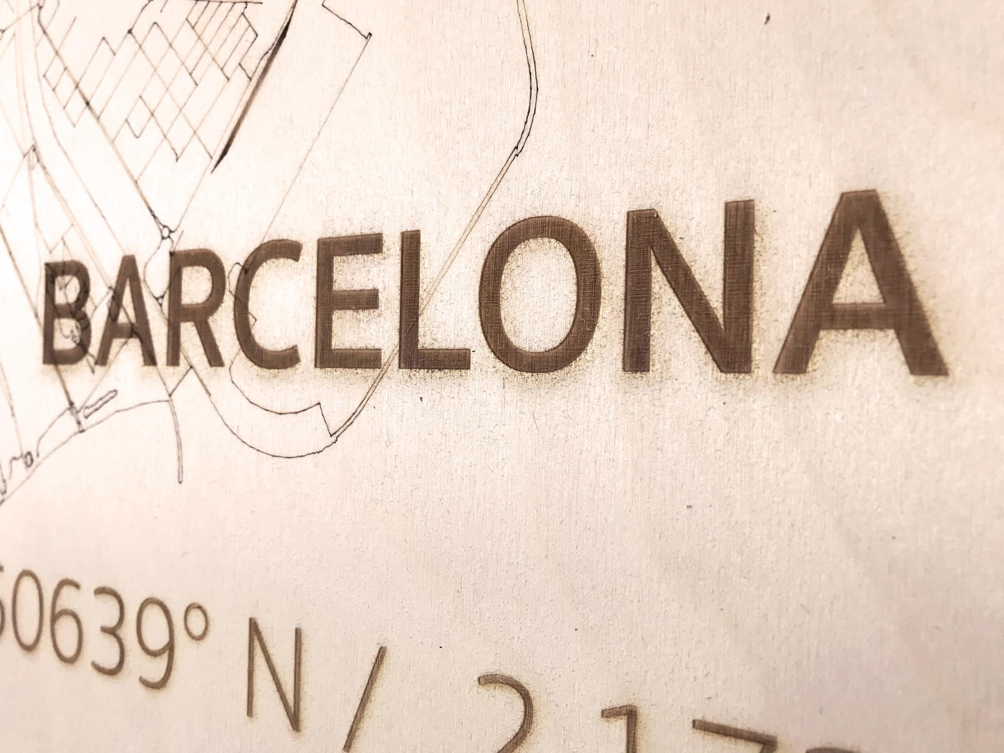 WOODEN WALL DECORATION BARCELONA CITYMAP-4