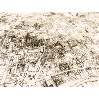 WOODEN WALL DECORATION LONDON CITYMAP