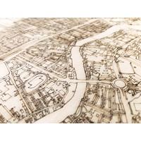 Citymap Zaandam | houten wanddecoratie