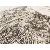 WOODEN WALL DECORATION Nijmegen CITYMAP