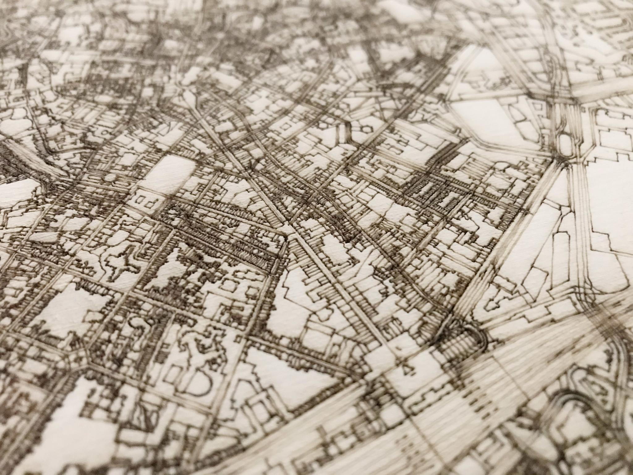Citymap Leuven | houten wanddecoratie-4