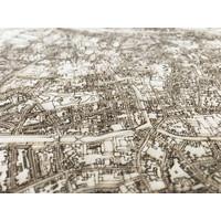 WOODEN WALL DECORATION Brugge CITYMAP