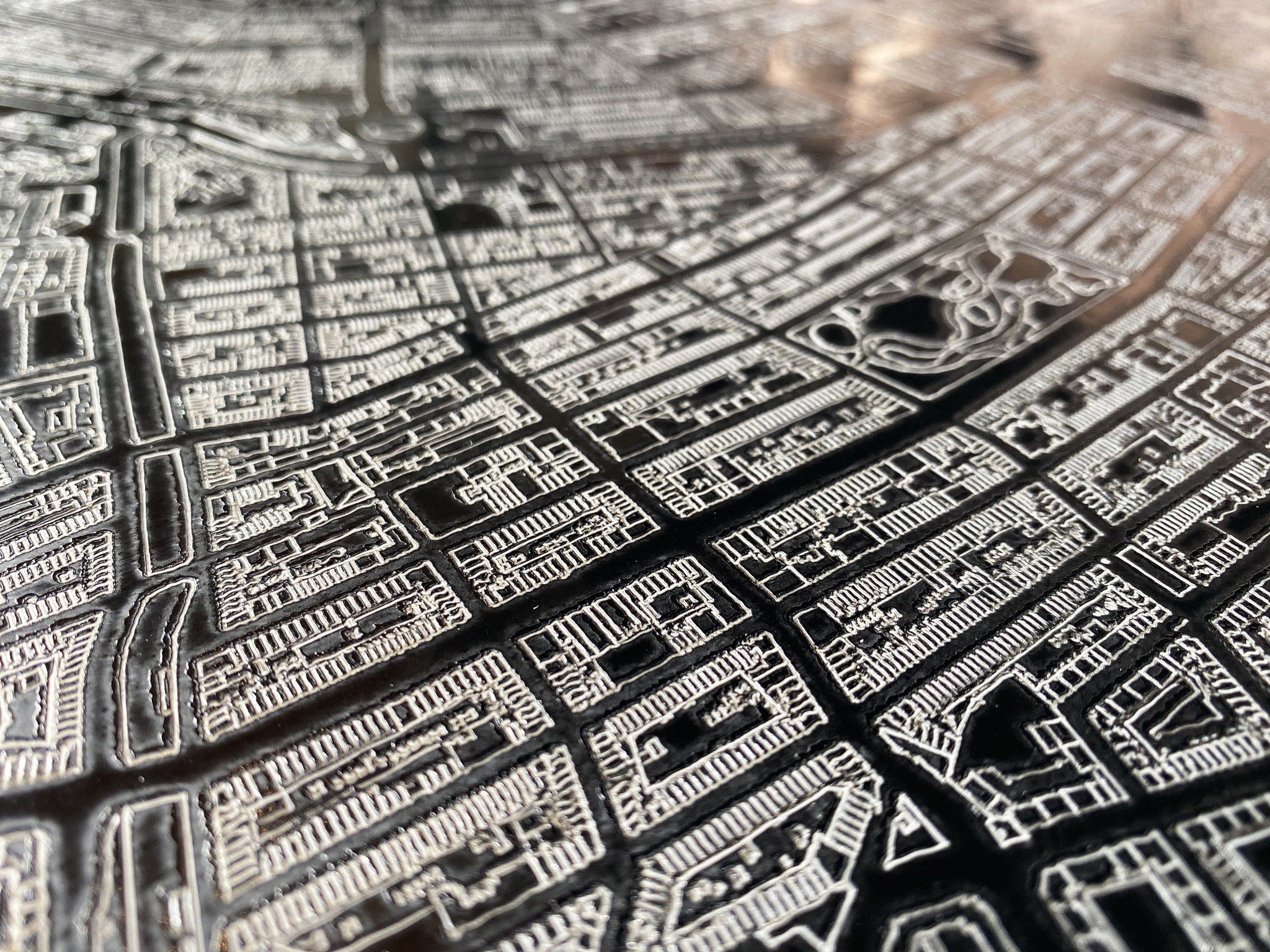 Citymap Amsterdam | Aluminum wall decoration-6