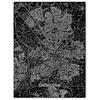 Citymap Eindhoven | Aluminium wanddecoratie