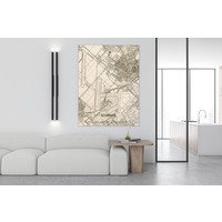 Citymap Schiphol | houten wanddecoratie