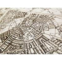 Citymap Johannesburg   houten wanddecoratie