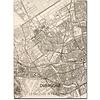 Citymap Overschie | houten wanddecoratie
