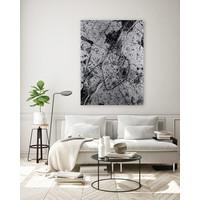 Stadtkarte Overschie | Aluminium Wanddekoration