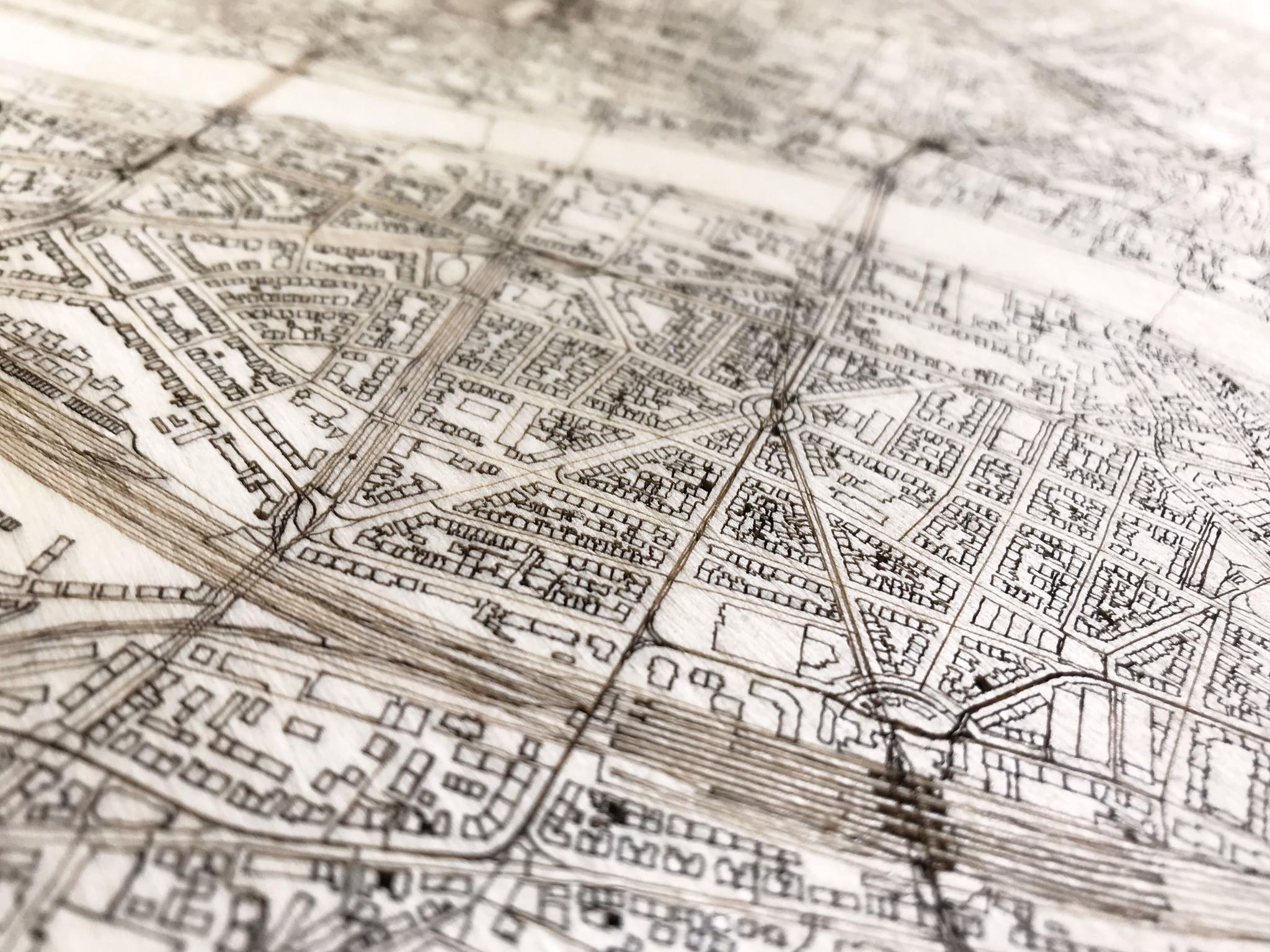 WOODEN WALL DECORATION FRANKFURT CITYMAP-3