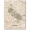 Citymap Schijndel | wooden wall decoration
