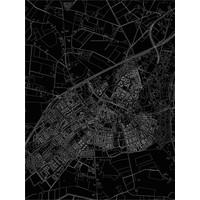 Citymap Lichtenvoorde   Aluminium wanddecoratie