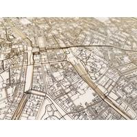 Citymap Antwerpen XL | Houten wanddecoratie