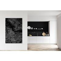 Citymap Amsterdam  XL | Aluminum wall decoration