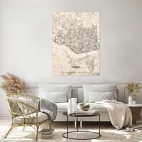 Citymap Porto | wooden wall decoration