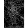 Citymap Mechelen | Aluminum wall decoration