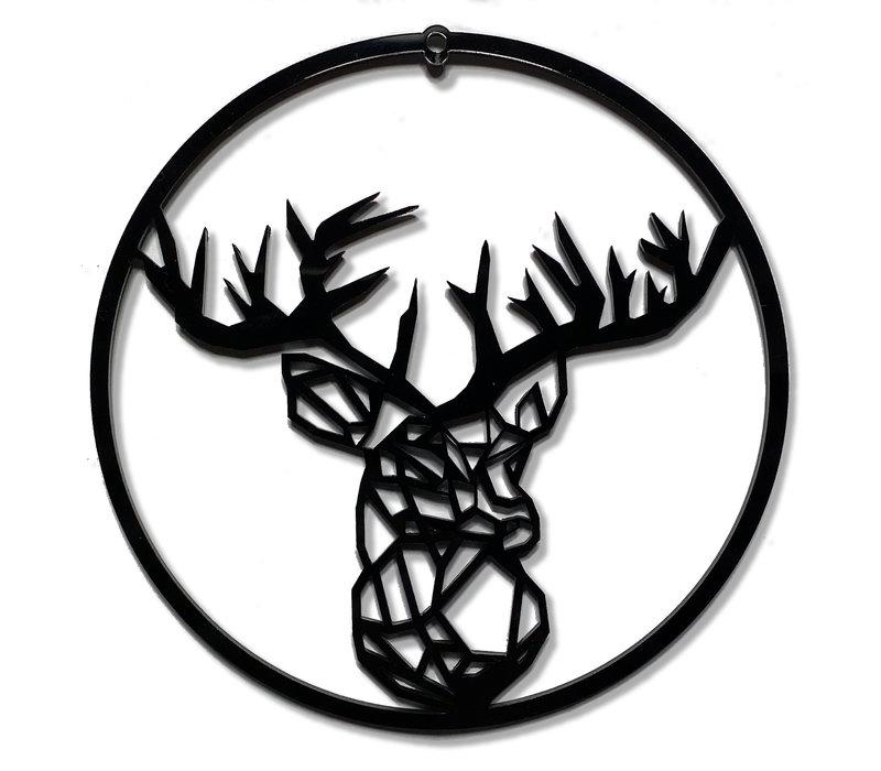 Weihnachtskugel Rudolf