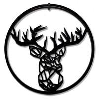 Weihnachtskugel Rudolf - Satz von 4