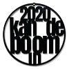 """Weihnachtskugel """"2020 kan de boom in"""" - Satz von 2"""