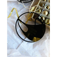 Christmas bauble face mask - set of 2