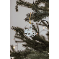 Weihnachtskugel Mund Maske. - Satz von 4