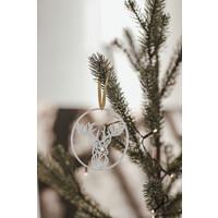 """Christmas bauble """"Kerst met ballen"""" - set of 2"""