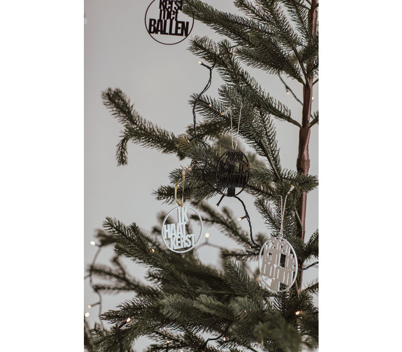 Christmas bauble Rudolf