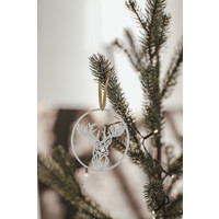 Christmas bauble hummingbird - set of 2