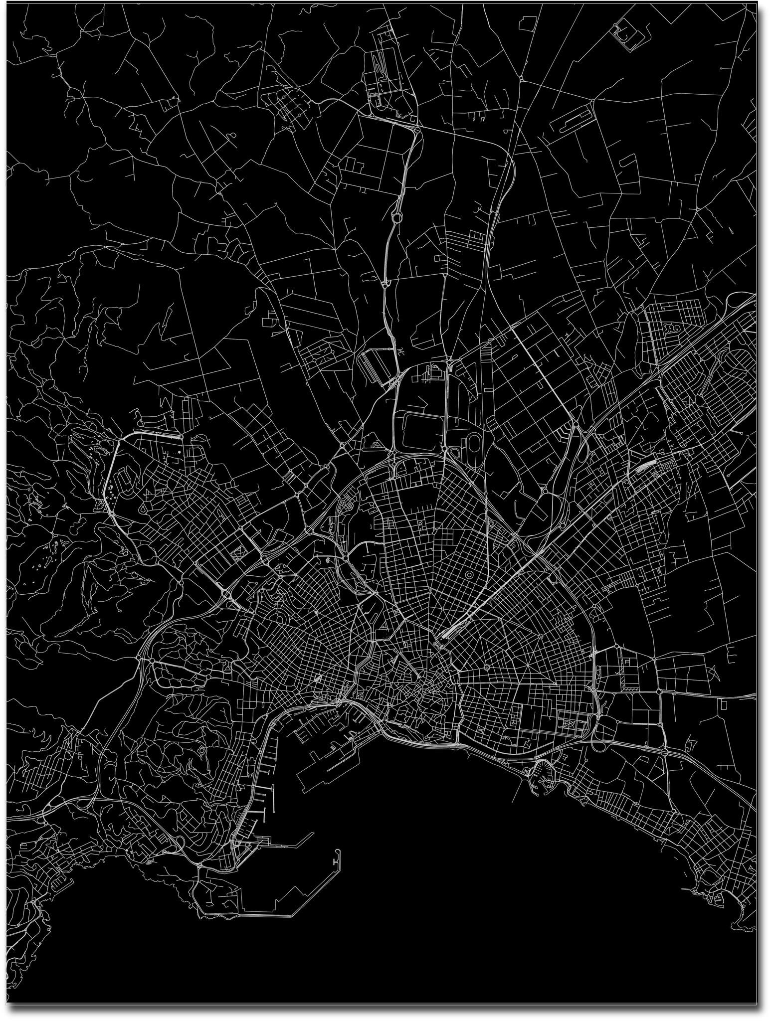 Citymap Palma | Aluminum wall decoration-3