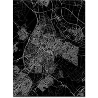 Stadtkarte Sittard   Aluminium Wanddekoration