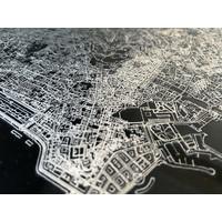 Citymap Johannesburg | Aluminum wall decoration