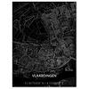Citymap Vlaardingen | Aluminium wanddecoratie