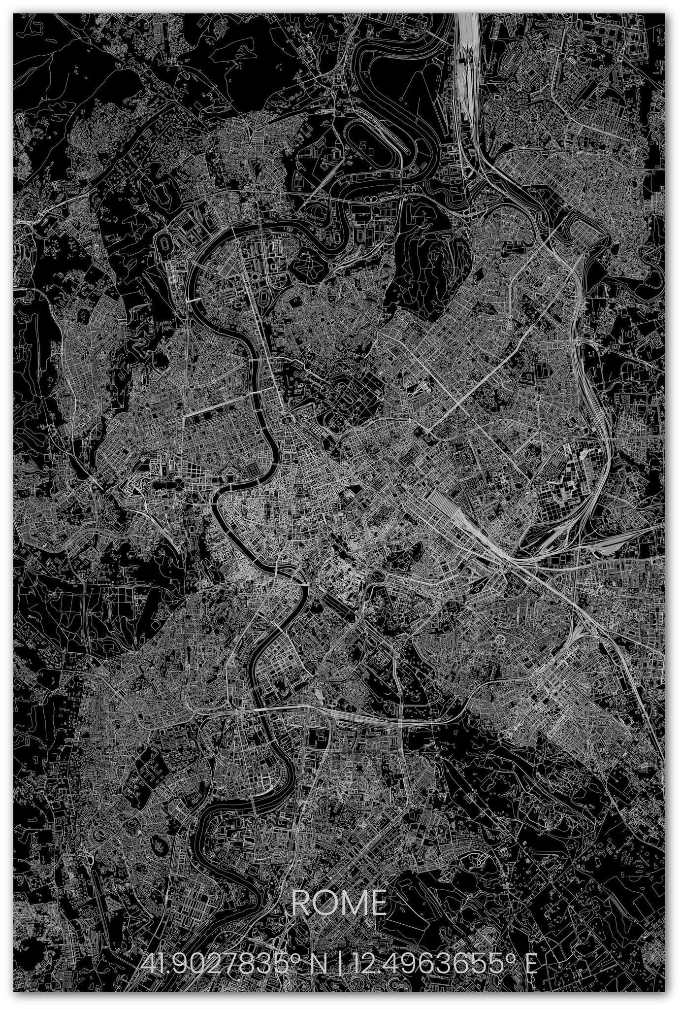 Stadtplan Rom XL-2