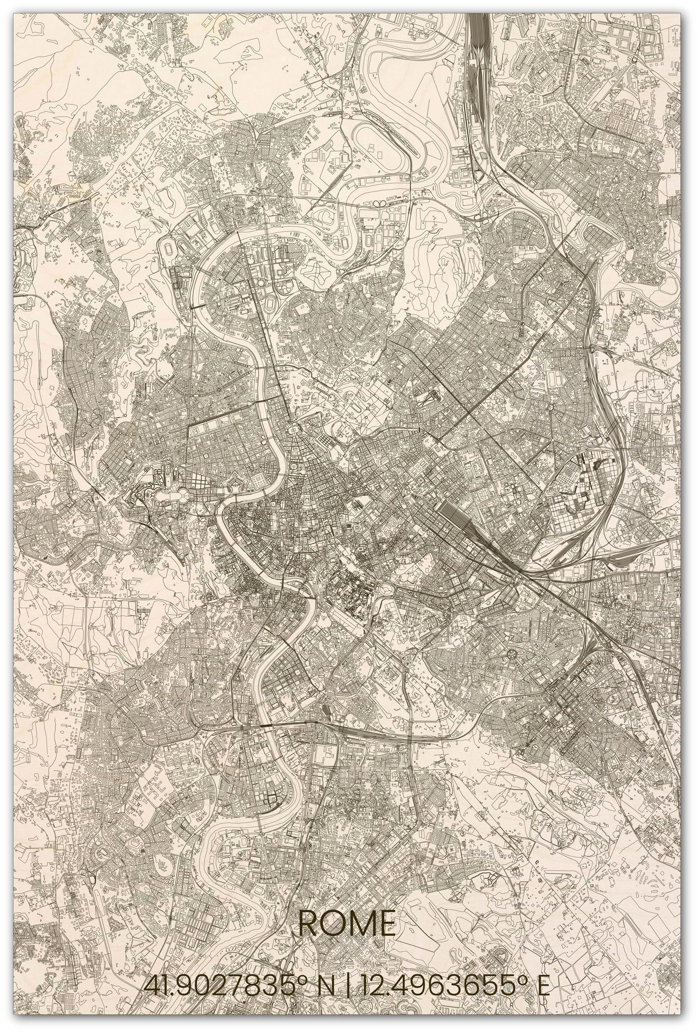 Stadtplan Rom XL-1