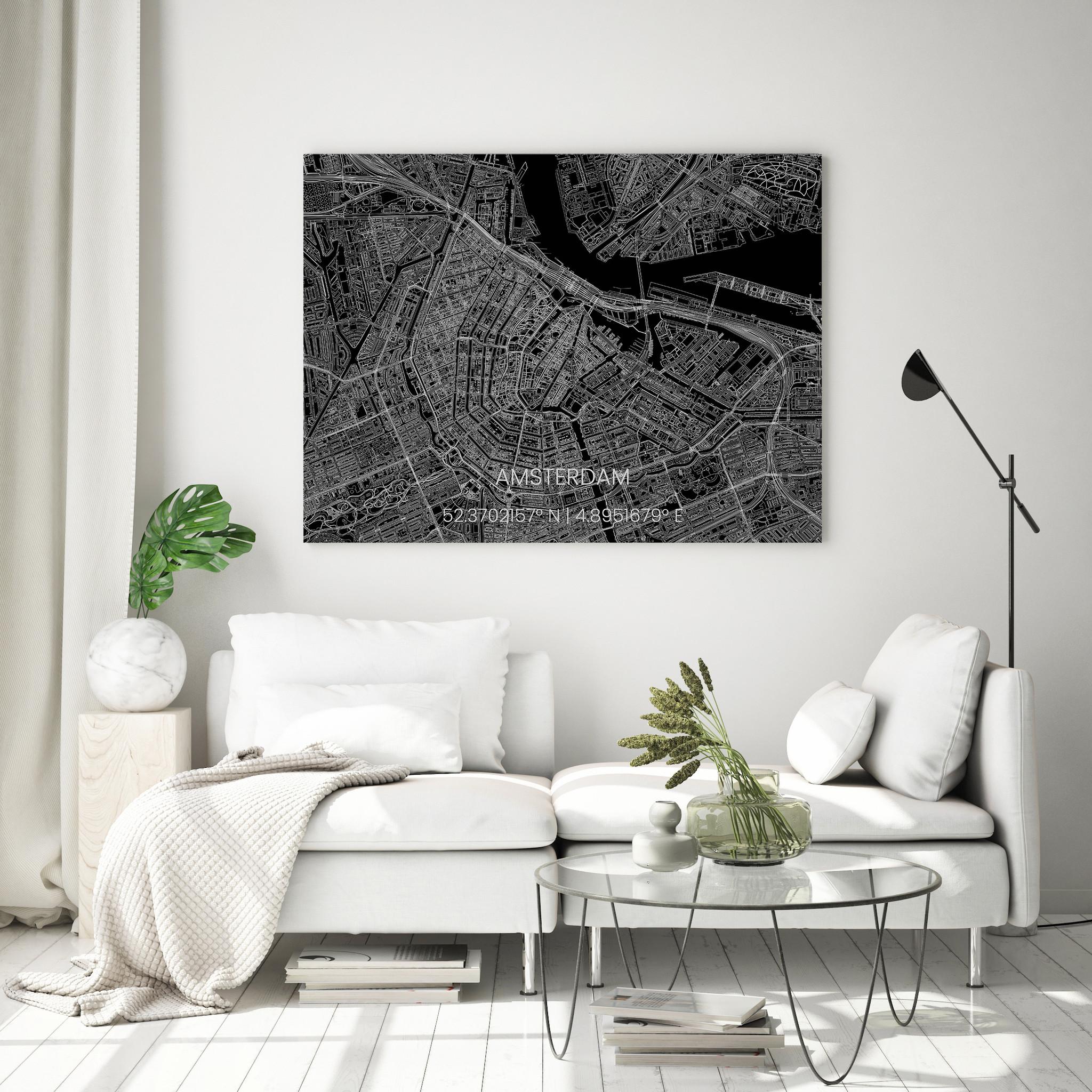 Stadtkarte Metal Amsterdam-4