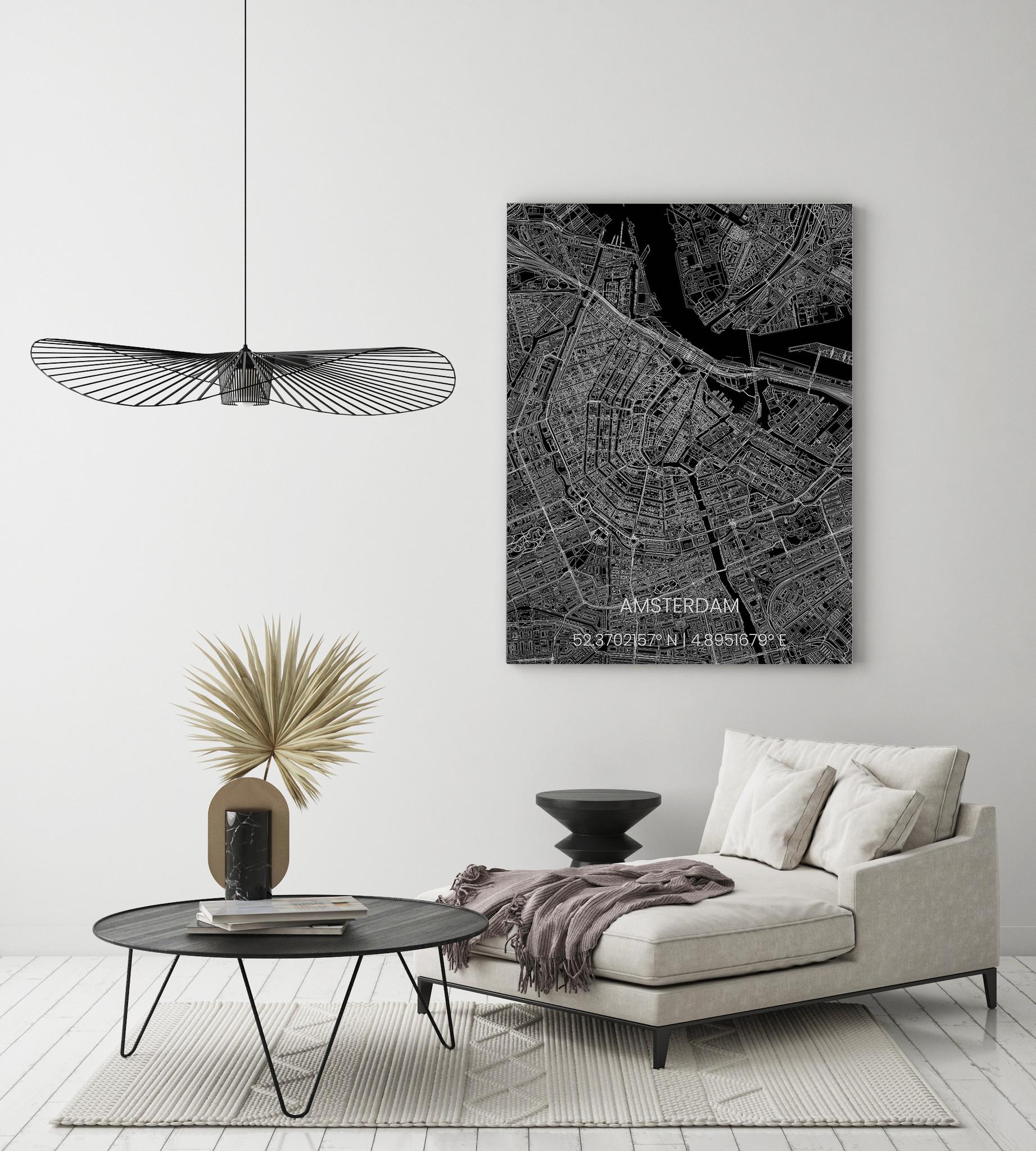 Stadtkarte Metal Amsterdam-2