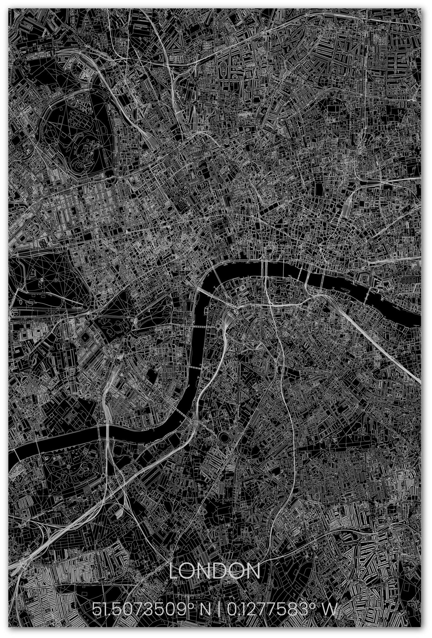 Stadsplattegrond Londen XL-3