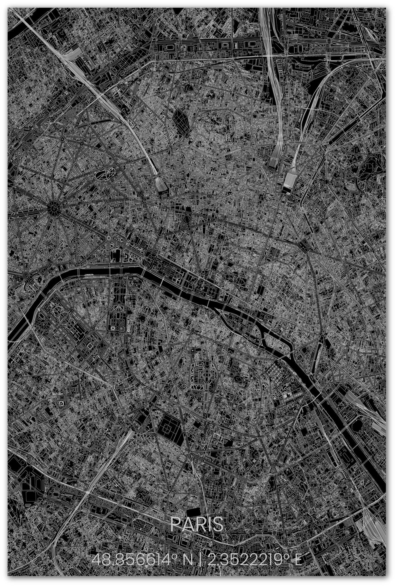 Stadtplan Paris XL-3