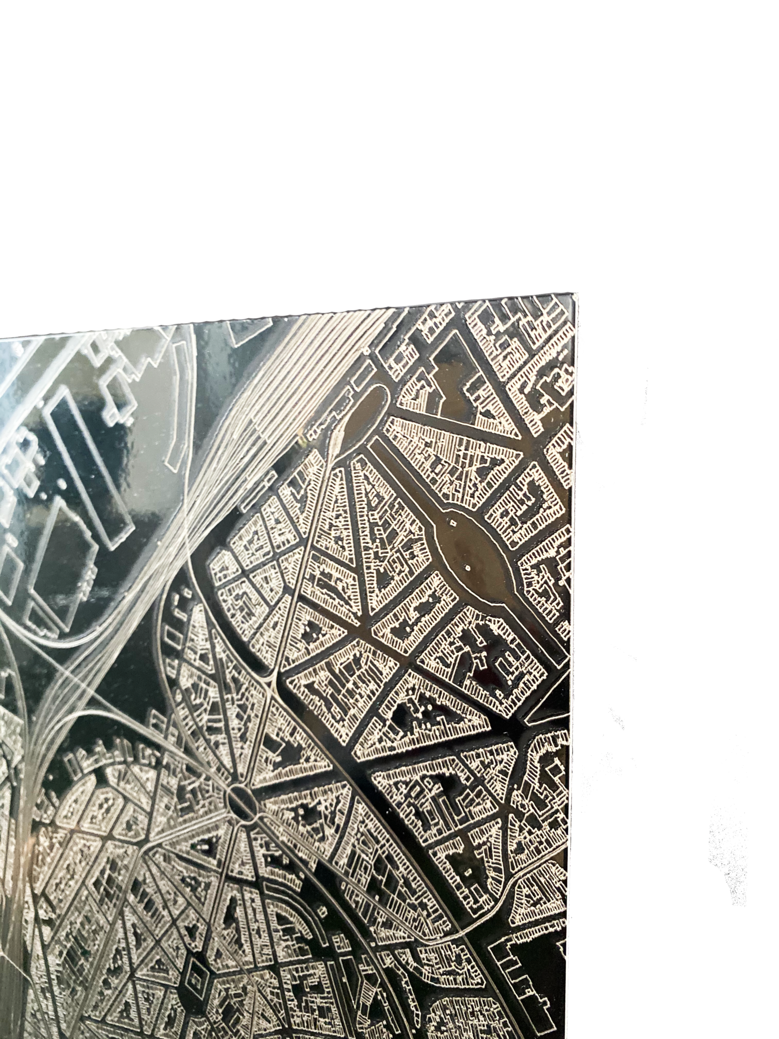 Wall decoration citymap München XL-8